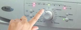 Ako spustiť testovací program na práčke Whirlpool
